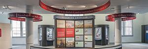 La tecnología AV ayuda a comprender la historia de la inmigración en el museo Ellis Island