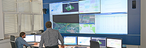 Eles manages the electrical network of Slovenia with Eyevis display technology