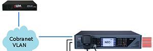 LDA Audio-Tech incorpora la funcionalidad CobraNet en el sistema PA/VA NEO