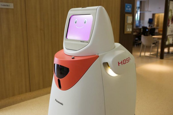 Panasonic robot Hospi