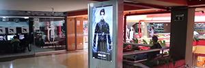 Ateire instala sus tótems Izas en el centro comercial Arenales Plaza de Lima