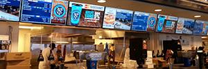El Yankee Stadium instala un sistema de menú digital sobre una red de visualización de Sony