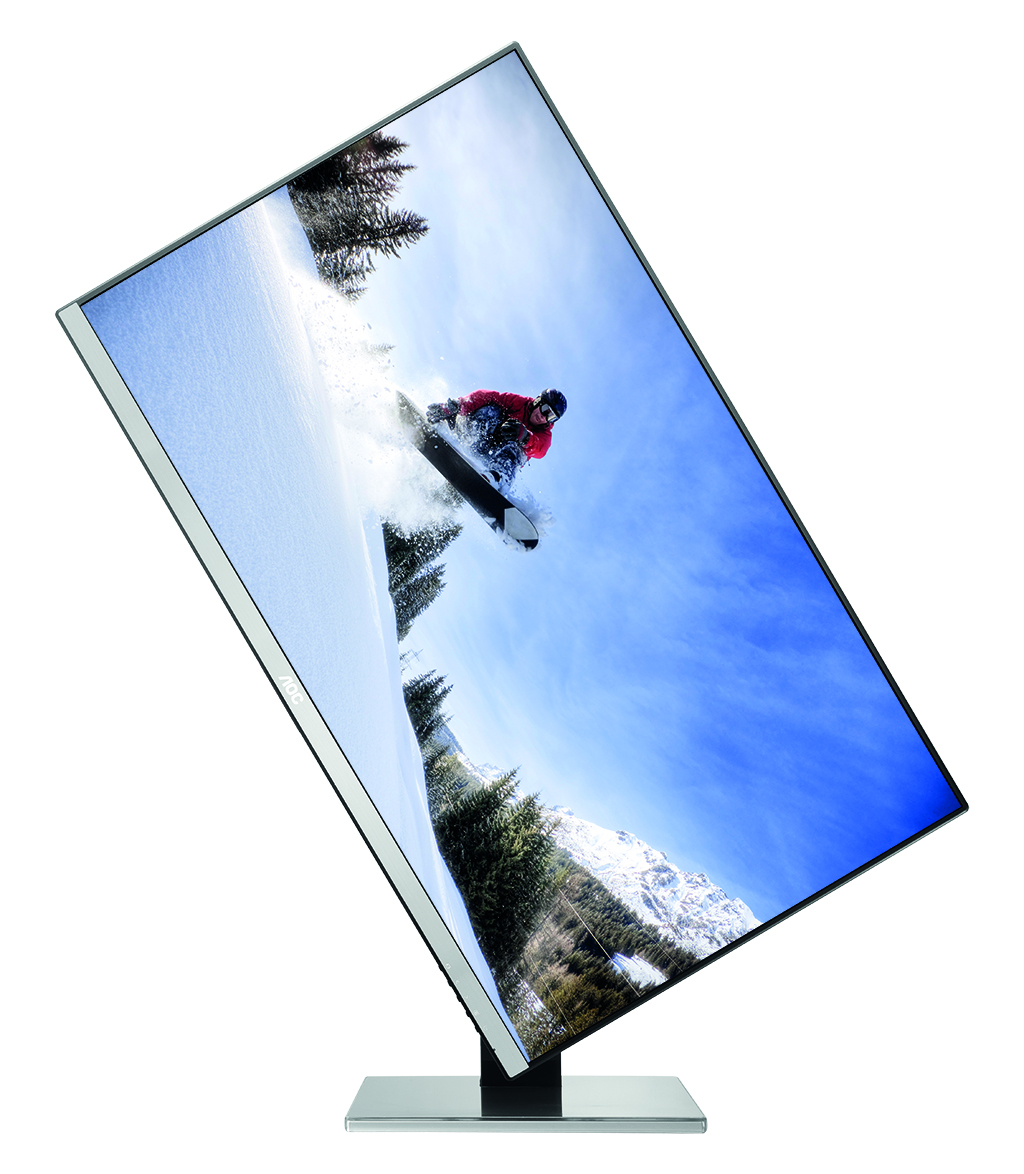 Monitor AOC Q2577PWQ for professionals who depend on the sharpness