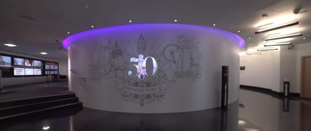 BT Tower Projection Artworks
