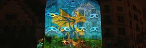 Casa Batlló vuelve a 'Despertar al dragón' con un mapping interactivo y telemático