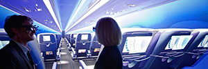 Dassault Systèmes helps to design the cabins of the planes with Passenger Experience