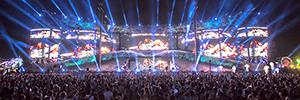 La tecnología de Elation ilumina los escenarios del Electric Daisy Carnival Las Vegas 2015