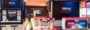 Eyevis propone nuevos cubos de proyección trasera para el diseño de videowalls en estudios