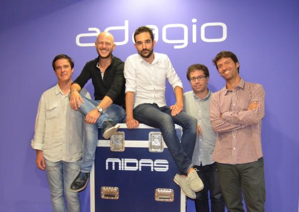 Grupo Adagio Music Group equipo comercial