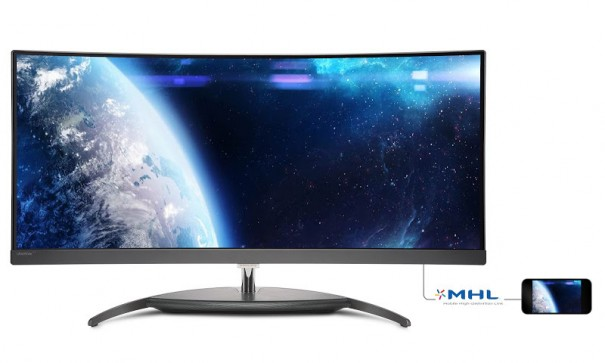 MMD Philips Brilliance Curved UltraWide