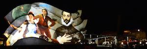 Los valores de España se muestran en Berlín en formato videomapping 3D