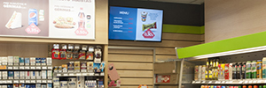 Most Lithuanian chain convenience creates a digital signage network with SSSP and Signagelive