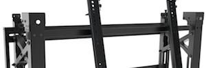 TooQ desarrolla un soporte giratorio e inclinable para pantallas de gran formato y videowall