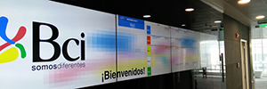 The BCI Academy of Chile PEPs up your training with the digital signage Wavetec room