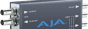 Miniconversores AJA para instalaciones AV y digital signage