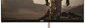 AOC I2481FXH and I2781FH: IPS screens with metal support asymmetrical