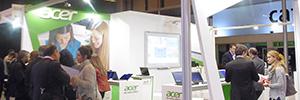 Los convertibles centran la oferta de Acer en el mundo de la educación
