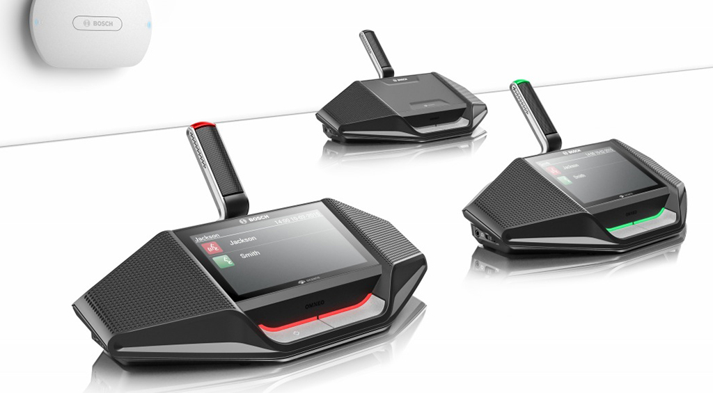 Bosch Dicentis: WiFi system for multipurpose conference rooms