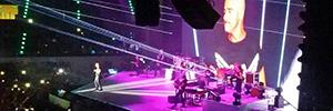 La cabeza móvil DTS EVO debuta en la gira internacional de Eros Ramazzotti
