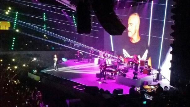 DTS EVO en gira Eros Ramazzotti