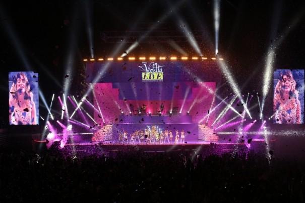 Fluge Audiovisuales concierto Violetta