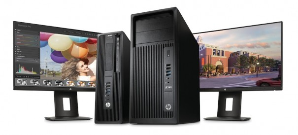 HP Z240 SFF y tower workstation