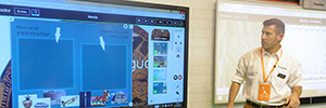 Promethean commitment displays large format by SIMO education 2015 multi-touch