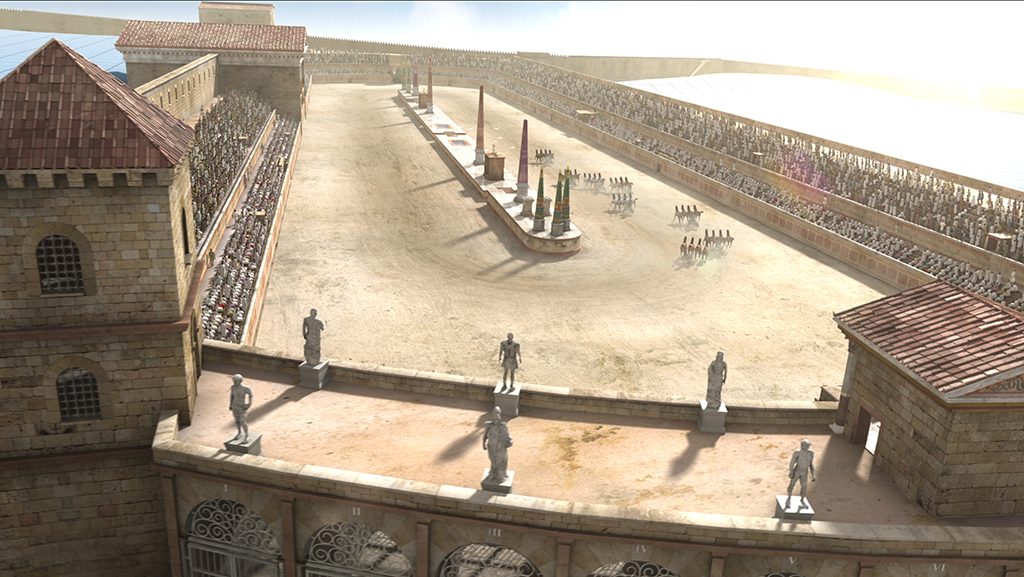 """Baños Roma Obra De Teatro:La serie """"Ingeniería romana"""""""