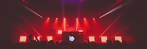Razzmatazz Barcelona ilumina los conciertos de música electrónica con Elation Cuepix Panel