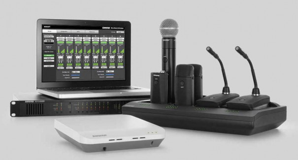 Shure Microflex Wireless Earpro Polycom