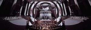 El auditorio checo Rudolfinum sirve de escenario para el videomapping inmersivo más largo del mundo