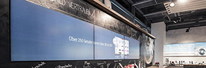Swisscom updated its system of digital signage at the point of sale