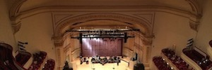 d & b audio ArrayProcessing successful test at Carnegie Hall and Apollo Theater in New York