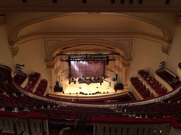 db audio ArrayProcessing Carnegie Hall