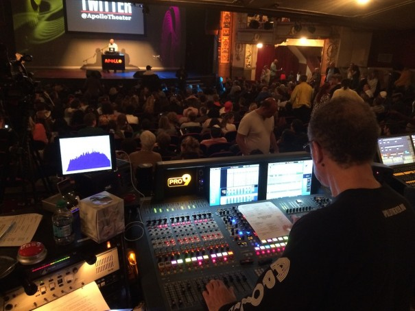 db audio ArrayProcessing Teatro Apollo