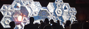 An interactive 3D mapping, star of the X edition of Euboea in Seville