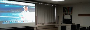 Avcast integrates Epson 3LCD projectors in the classrooms of the Faculty of Commerce and tourism and the CEU