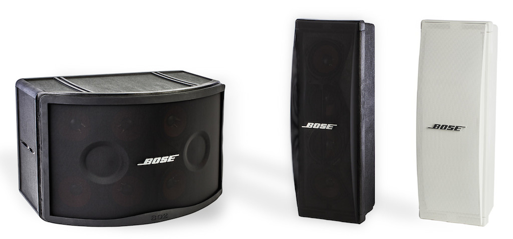 Bose Professional upgrade your speakers Panaray 802 and 402 Series IV