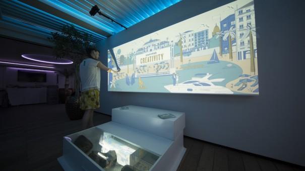 Christie y Microsoft Light Mural