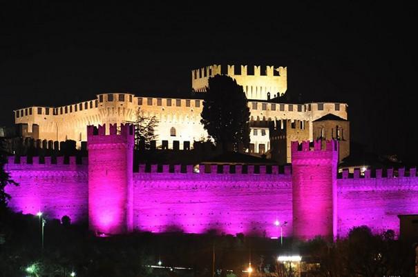 DTS ilumina Castillo Gradara