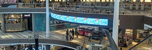Deneva gestiona las pantallas circulares del centro comercial Fontanar de Colombia