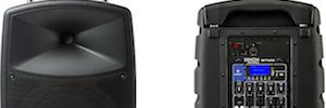 Denon Envoy: sistema de sonido portátil e inalámbrico para amplificar voces y música
