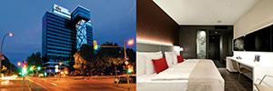 El hotel Riu Plaza Berlín abre sus puertas apostando fuerte por el digital signage