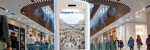 Impactmedia develops a new tactile and interactive digital support for its malls circuit