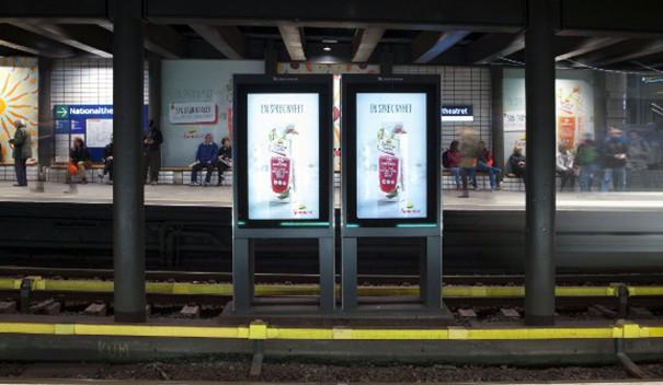Matrox Clear Channel metro Oslo