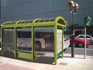 Mobiliario urbano solar