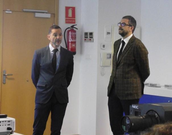 NEC Caverin jornada proyeccion Federico Haba Jaime Villanueva