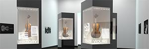 Planar revoluciona el entorno retail con la pantalla transparente LookThru Oled