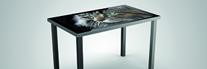 55 Polytouch 4K, un 'all in one' multi-touch screen UHD