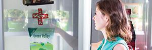 iDoor, solución de digital signage para integrar en las puertas de los frigoríficos de tiendas minoristas